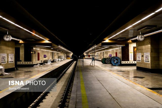 توضیح مترو درباره آبگرفتگی ورودی ایستگاه میدان صنعت