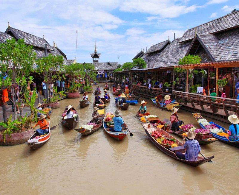بازار شناور پاتایا، بزرگترین بازار شناور دنیا!